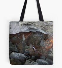 Sung Sot (Surprise) Cave in Ha Long Bay, Vietnam Tote Bag