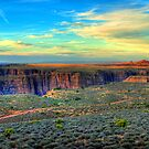 Navajo Sunset by K D Graves Photography