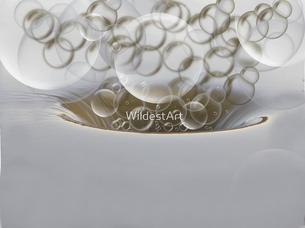 Bubble Up by WildestArt