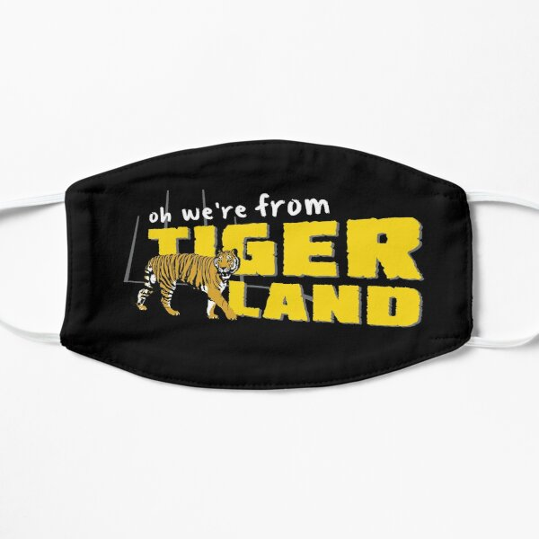 Oh We're From Tigerland - Richmond Theme Song Flat Mask