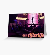 Visit Afterlife Greeting Card