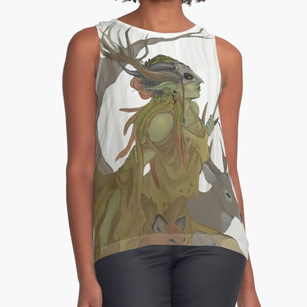 Forest Guardian Sleeveless Top