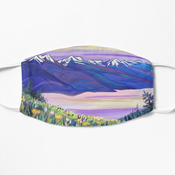 Kootenay Lake in Spring Mask