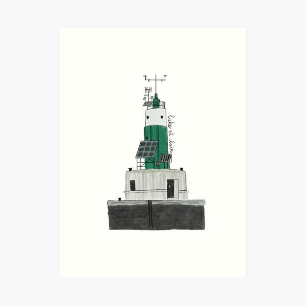 Lake St Clair Lighthouse Art Print