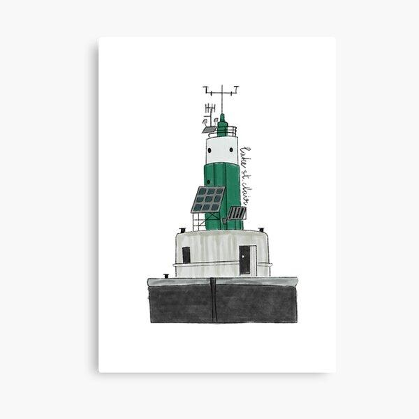 Lake St Clair Lighthouse Canvas Print