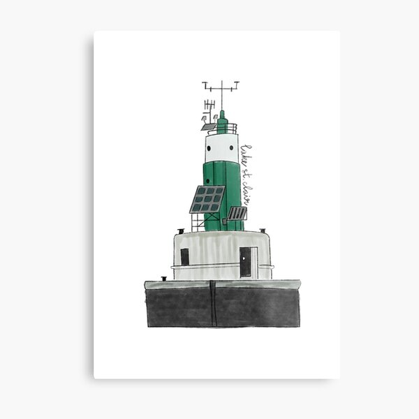 Lake St Clair Lighthouse Metal Print