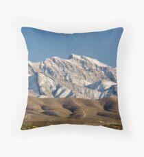 Franklin Mountains Throw Pillow