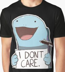 Quagsire's Unaware Activated Graphic T-Shirt