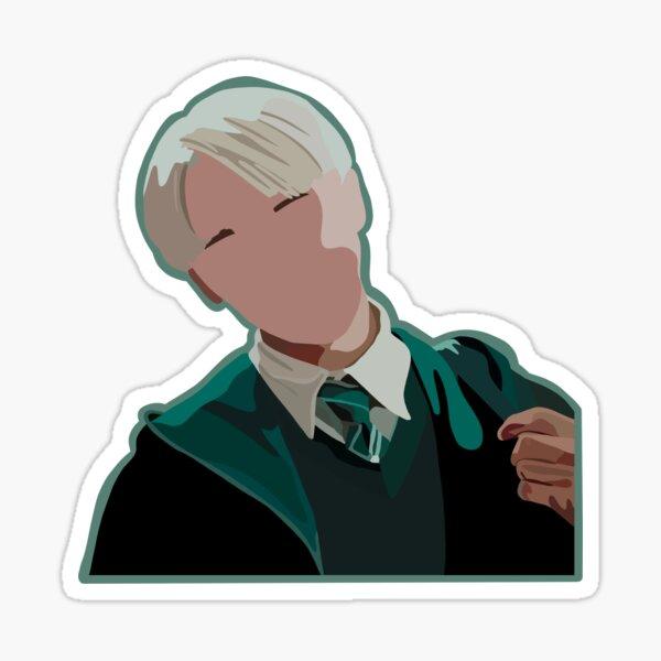 The names Malfoy, Draco Malfoy Sticker