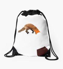 Fox Drawstring Bag