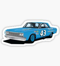 1964 Petty Plymouth Sticker