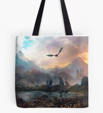 Dragon Mountain Tote Bag