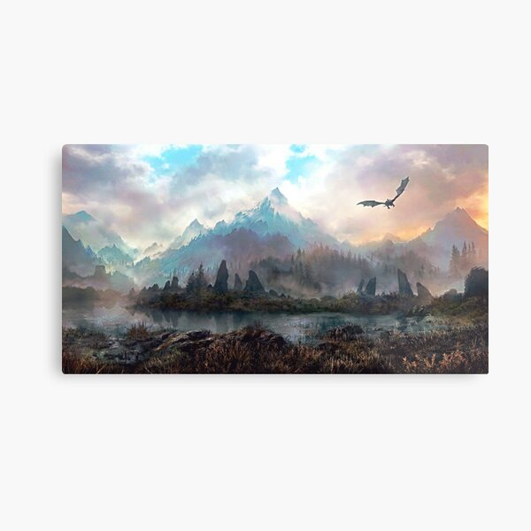Dragon Mountain Metal Print