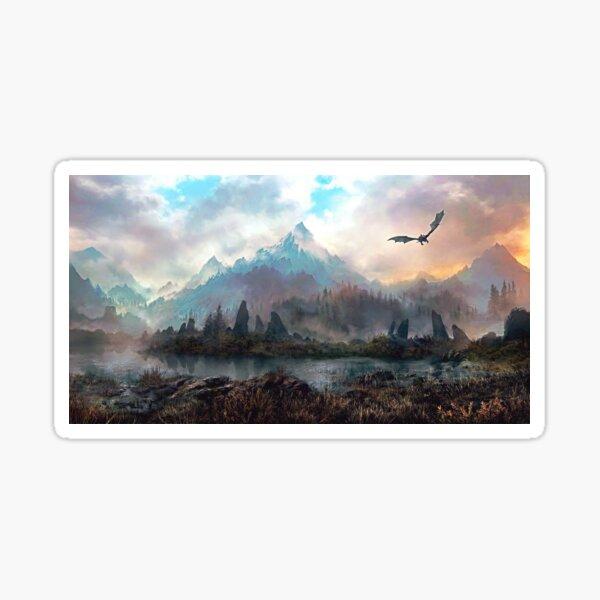 Dragon Mountain Sticker