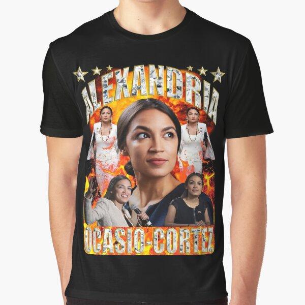 Alexandria Ocasio-Cortez Graphic T-Shirt