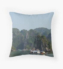 Ha Long Bay, Vietnam Throw Pillow
