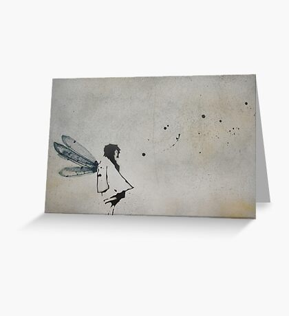 'i want to fly' Greeting Card