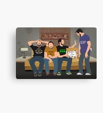 Tabletop: Wil Wheaton on the Couch Canvas Print