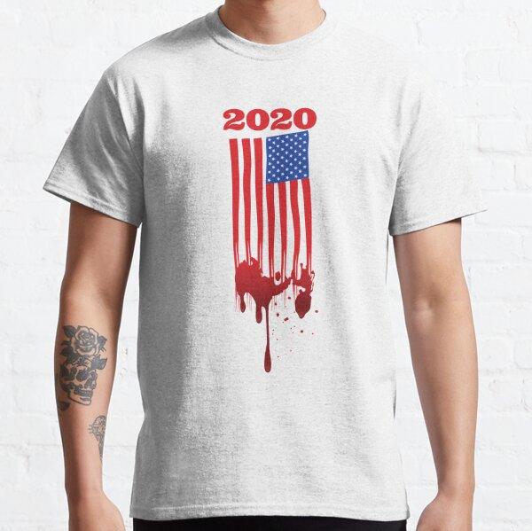 American bleeding flag Classic T-Shirt