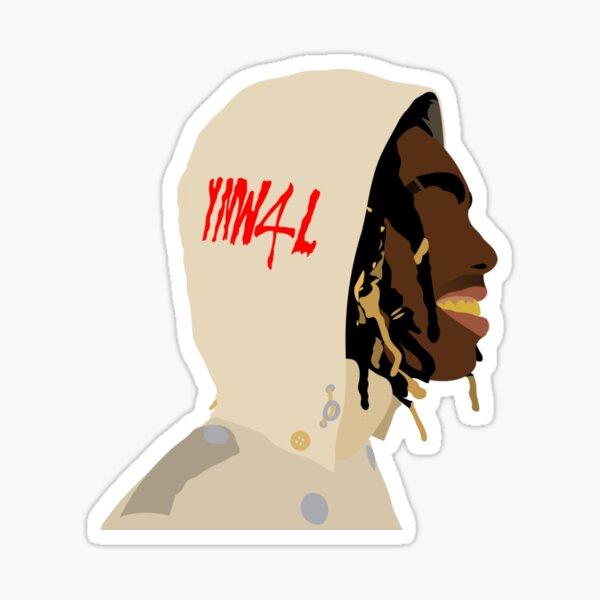 YNW Melly Sticker
