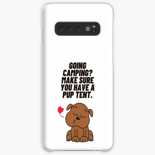 Going camping? Make sure you have a pup tent Samsung Galaxy Snap Case