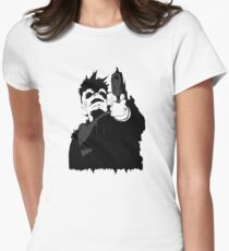 """""""look me in the eye and tell me i'm crazy"""" Women's Fitted T-Shirt"""