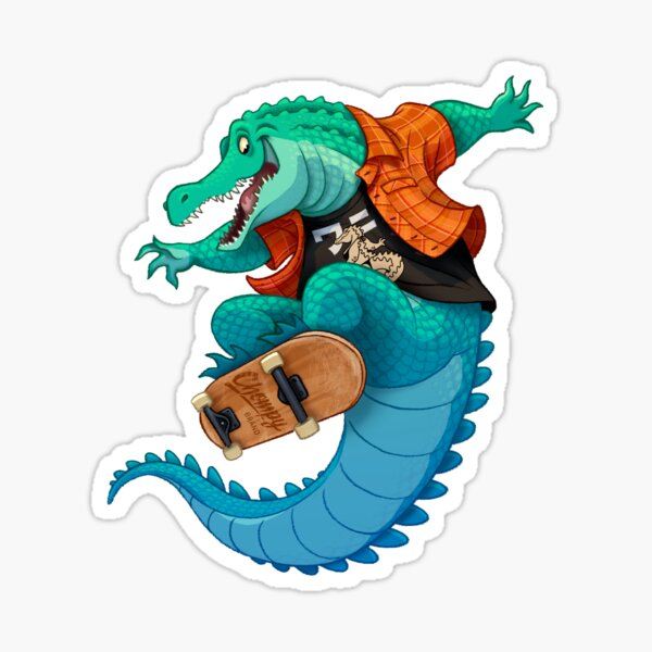 Ollie Gator Sticker