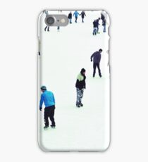 ice skaters iPhone Case/Skin