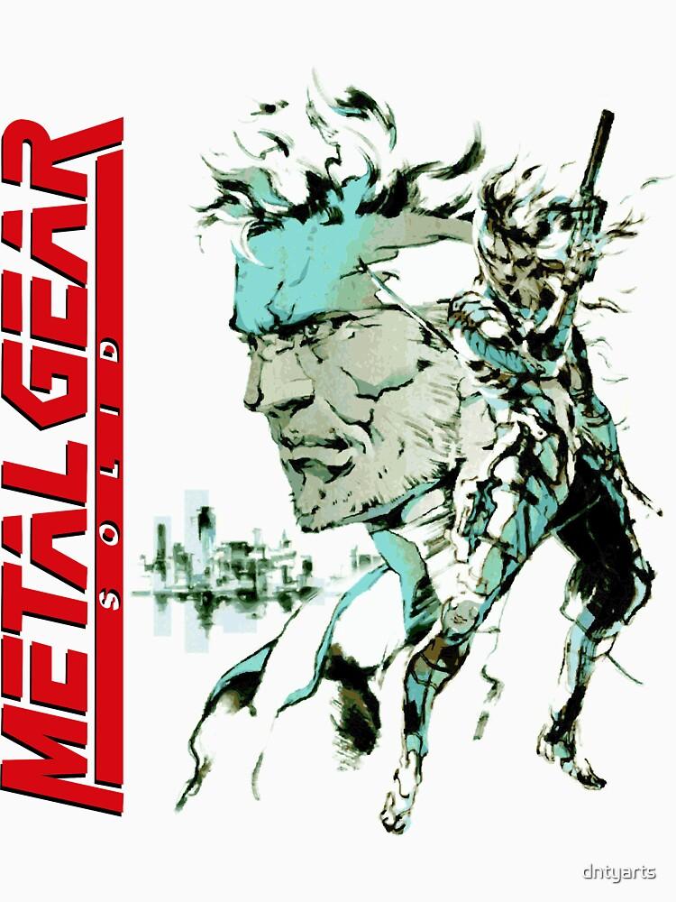 Metal Gear Solid by dntyarts