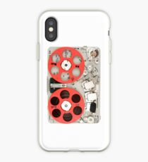 Nagra SN recorder iPhone case iPhone Case
