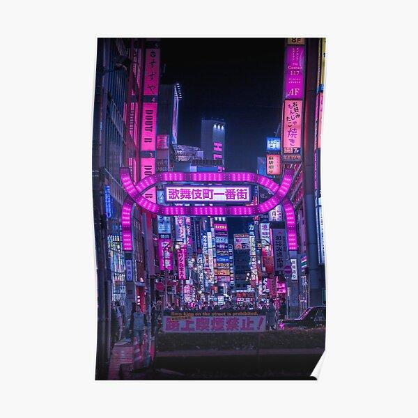 Porte Kabukicho - verticale Poster