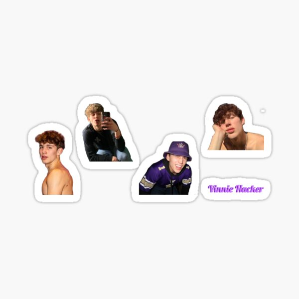 Vinnie Hacker Stickers Sticker