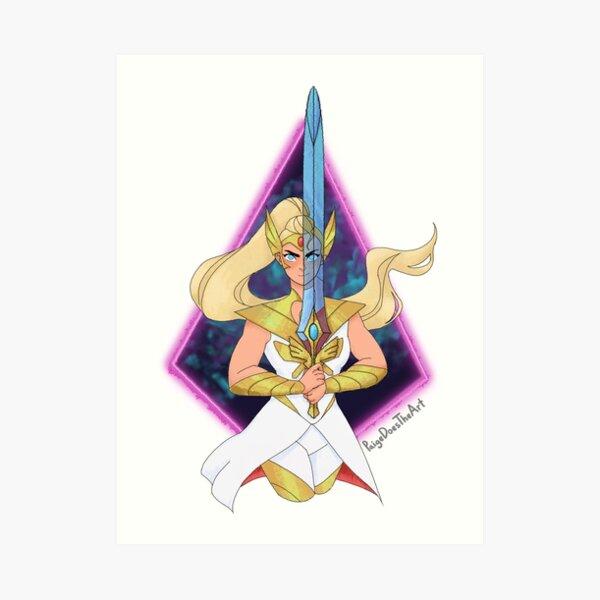 Shera Adora Sword Art Print