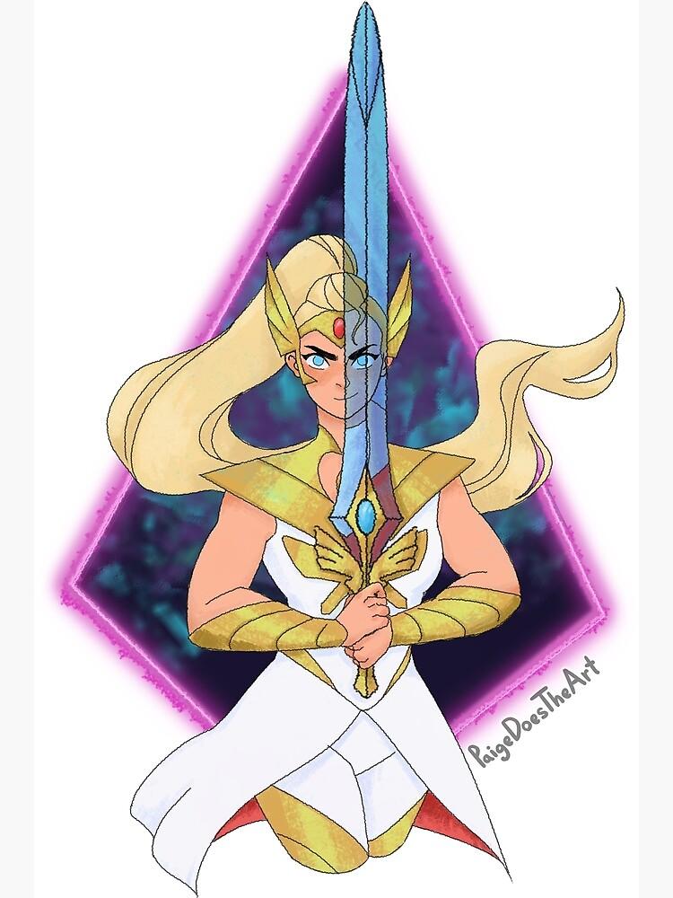 Shera Adora Sword by PaigeDoesTheArt