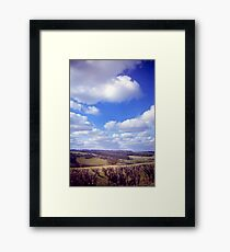 Yorkshire Clouds Framed Print