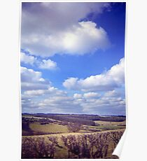 Yorkshire Clouds Poster