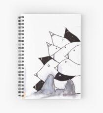 pod birds #02 Spiral Notebook