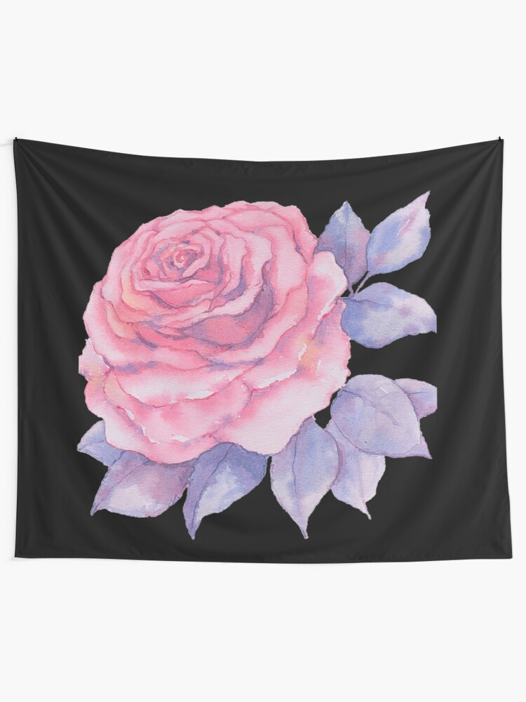 Alternate view of Girly Country Rose Tapestry