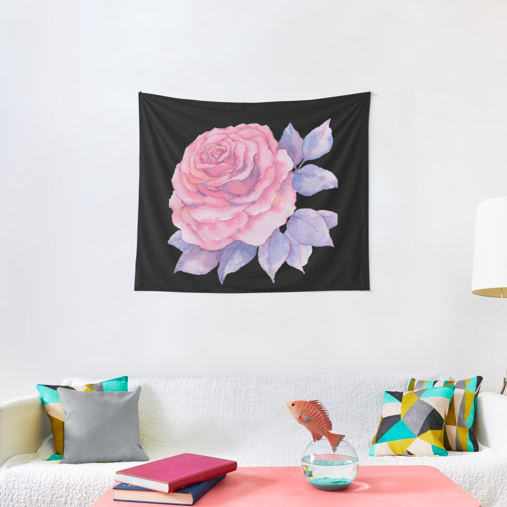 Girly Country Rose Tapestry