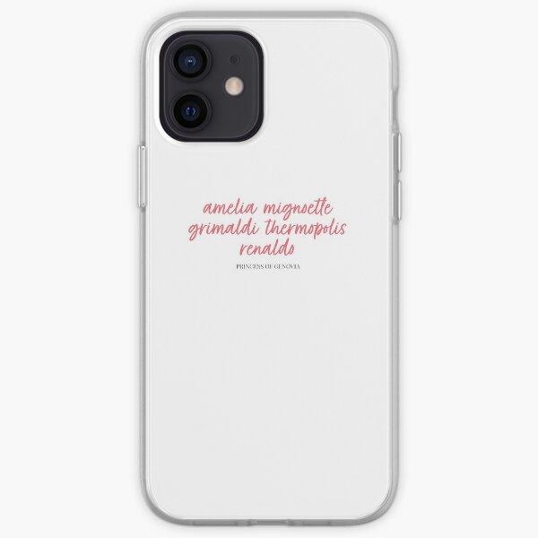 Princess of Genovia - Princess Diaries iPhone Soft Case