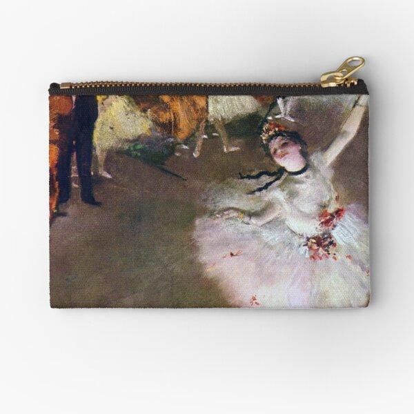 The Star (Alternate Version) (1878) by Edgar Degas Zipper Pouch