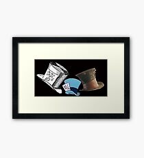 Mad Hatter - All the hats Framed Print