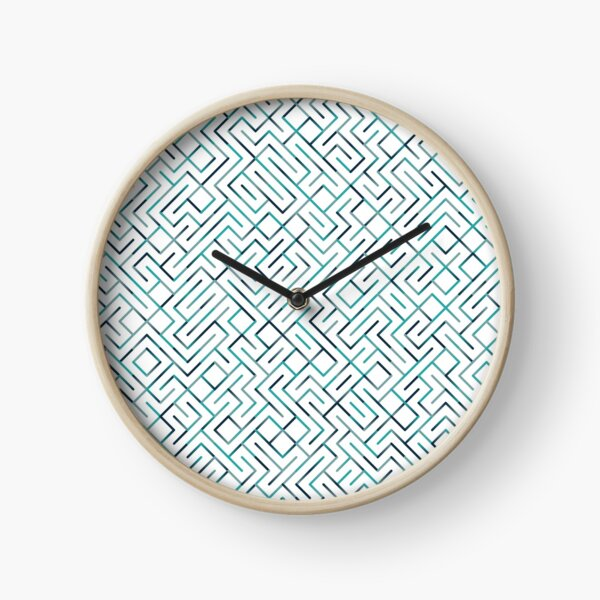 Manipulated Compactor (blues) Clock