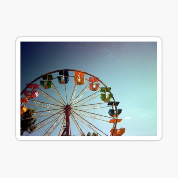 35mm Film Ferris Wheel  Sticker