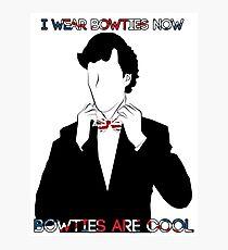 Sherlock (BBC) declaration for bowties Photographic Print