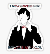 Sherlock (BBC) declaration for bowties Sticker