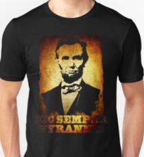 Sic Semper Tyrannis Abraham Lincoln Unisex T-Shirt