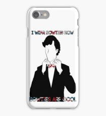 Sherlock (BBC) declaration for bowties iPhone Case/Skin