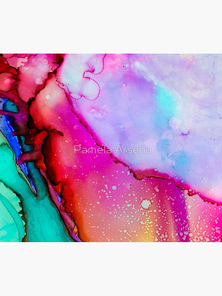 Psychedelic Wet Paint by xpressio