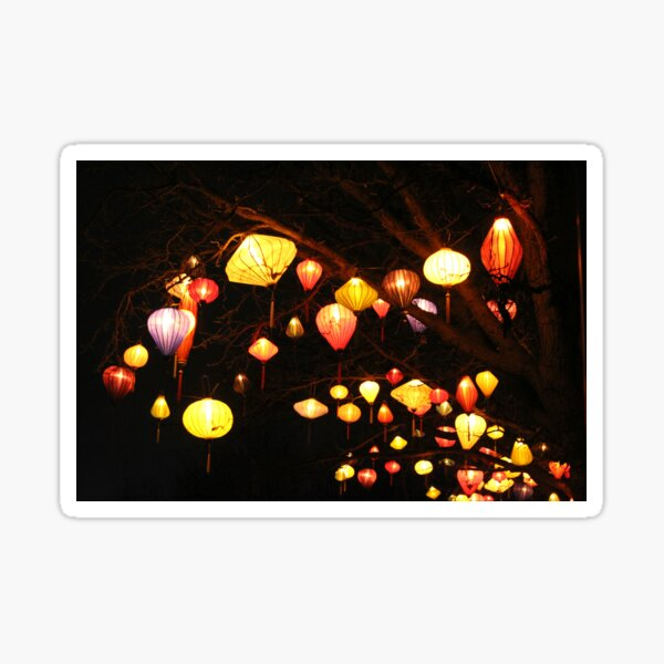 Paper Lanterns  Sticker